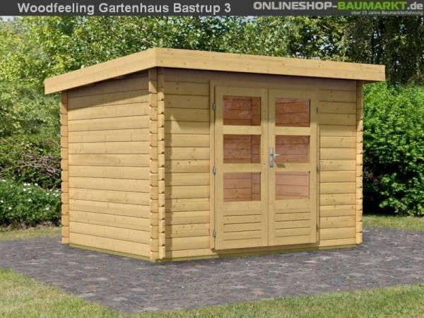 Karibu Woodfeeling Gartenhaus Bastrup 3
