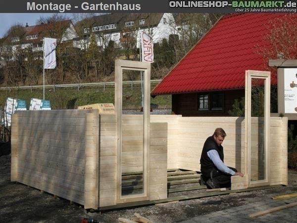 Montage Weka Gartenhaus 149 5-Eck m.Dachaufsatz Gr. 1 (Deutschland)