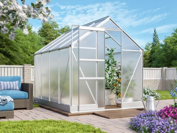 Vitavia Gewächshaus Apollo 5000 HKP 4 mm Alu