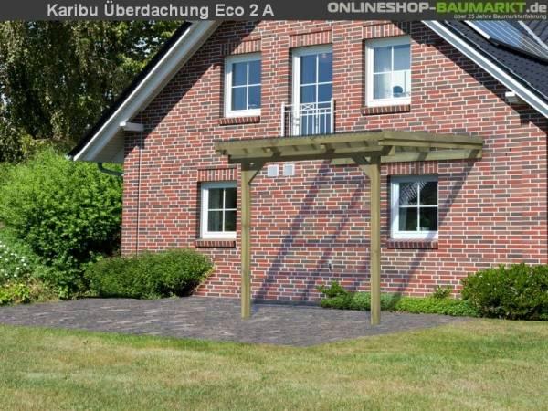 Karibu Terrassenüberdachung ECO Modell 2 Größe A
