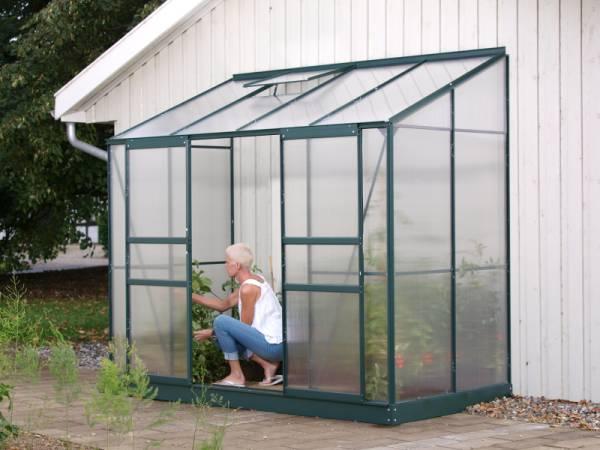 Vitavia Gewächshaus Ida 3300 HKP 4 mm dunkelgrün